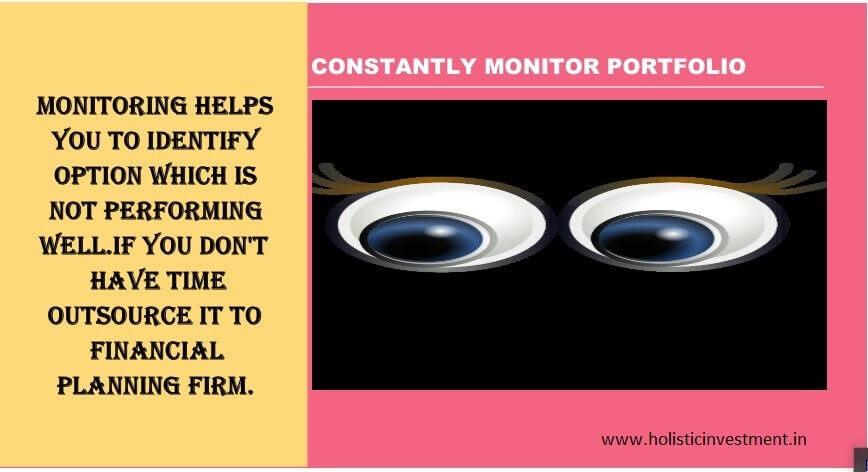 monitoring portfolio