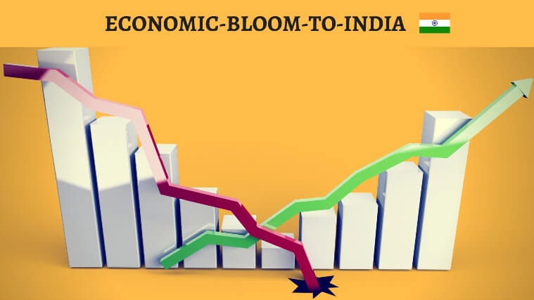 economic bloom to india