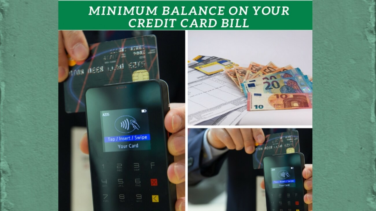 minimum balance on credit card bill