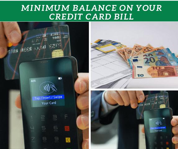 minimum credit bill