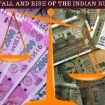 rise and fall of indian rupee