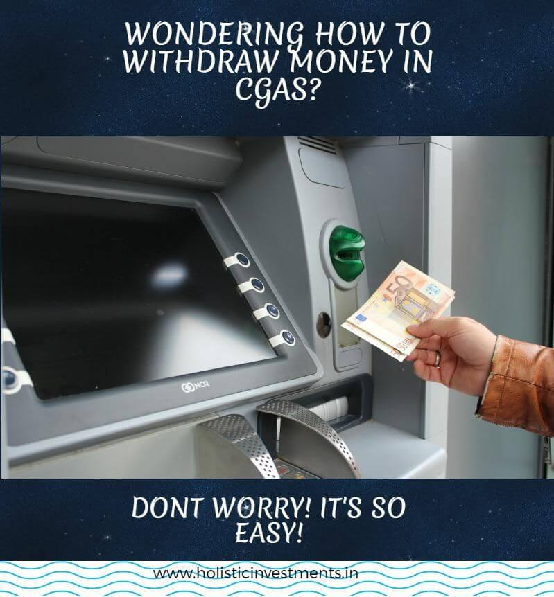 How to withdraw funds from cgas
