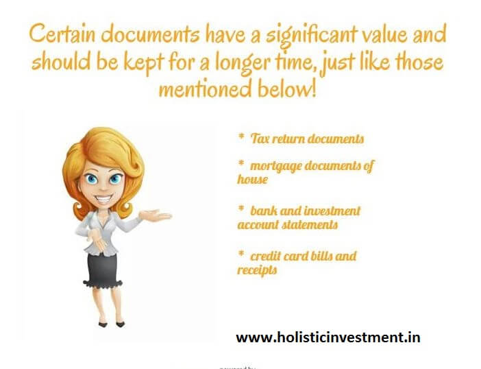 Life of the personal finance document (2)
