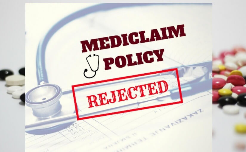 mediclaim rejected