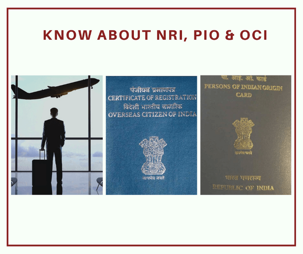 known about nri,pio,oci