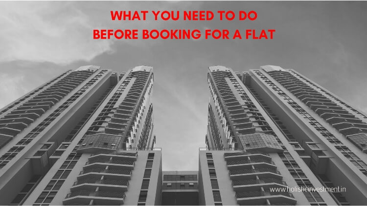 before booking an flat
