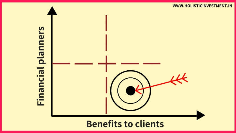 financial planners vs benefits to cliens