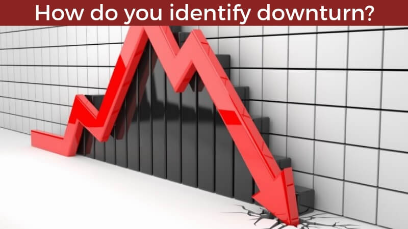 How do you identify downturn