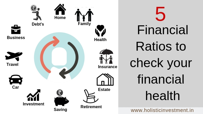 5 Financial Ratios to Check Your Finanical Health