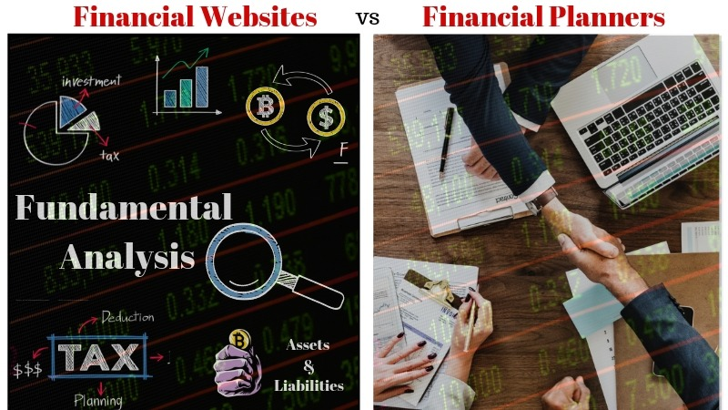 Financial Websites vs Financial Planners