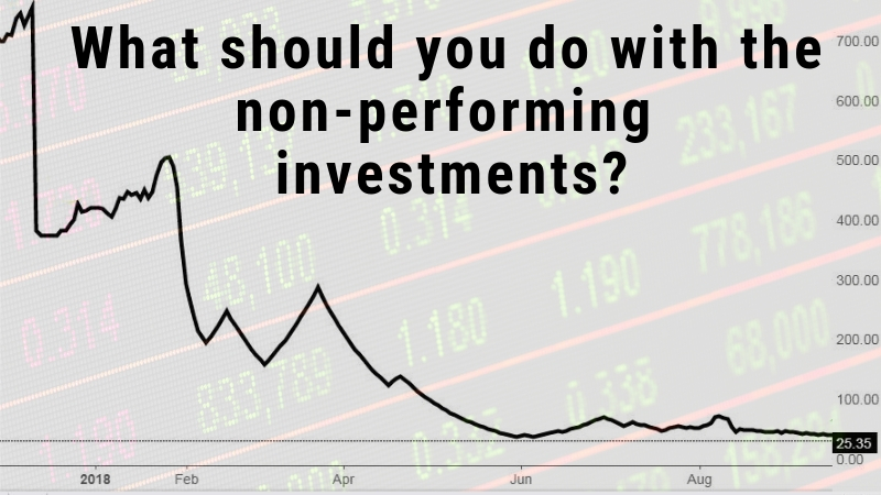 What Should You do With the Non Performing Investments
