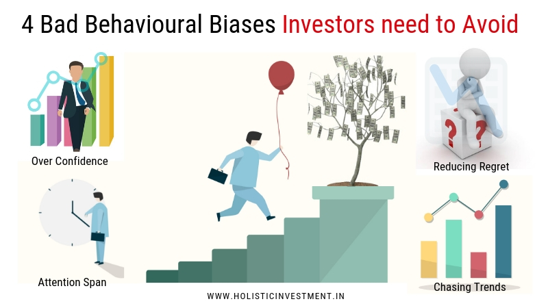 4 Bad Behavioural Biases Investors need to Avoid