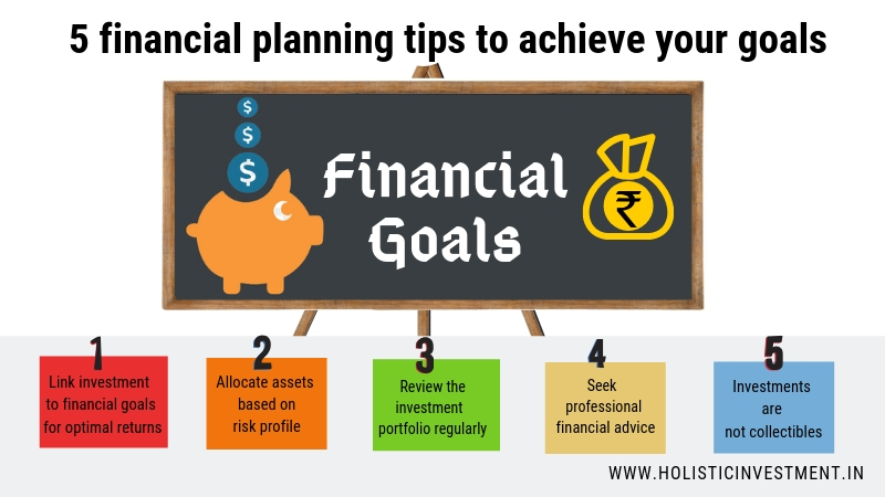 5 financial planning tips to achieve your goals