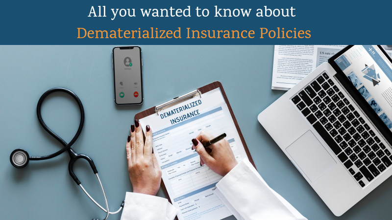 Dematerialized Insurance Policies