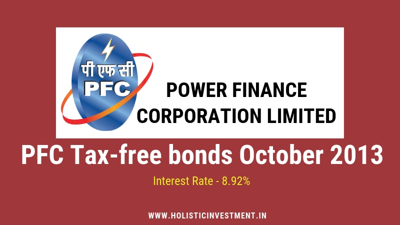 PFC Tax free bonds