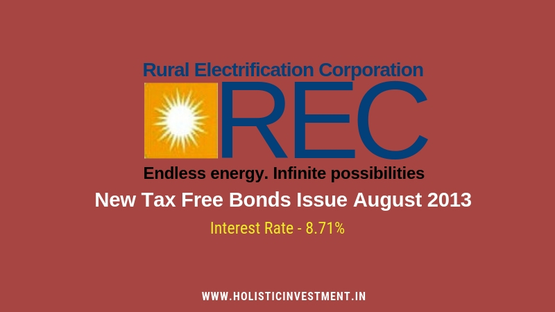 REC Tax free bonds