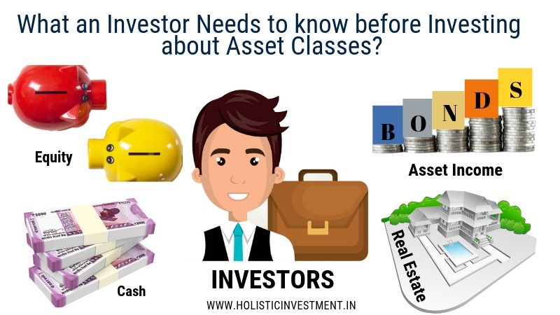What an Investor Needs to know before Investing about Asset Classes