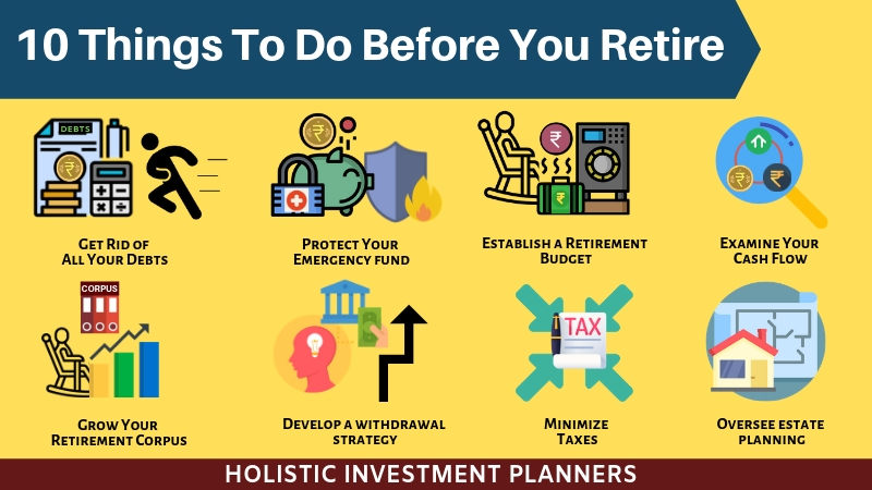 10 Things To Do Before Retire