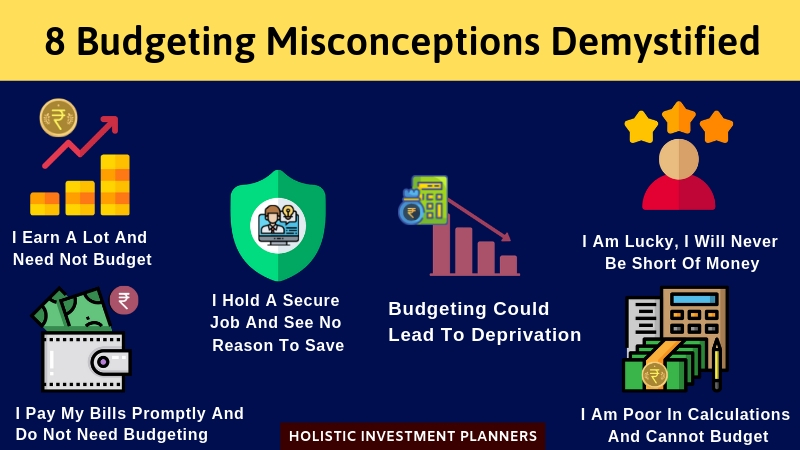 8 Budgeting Misconceptions Demystified