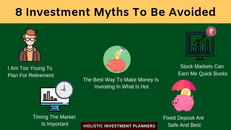 8 Investment Myths To Be Avoided