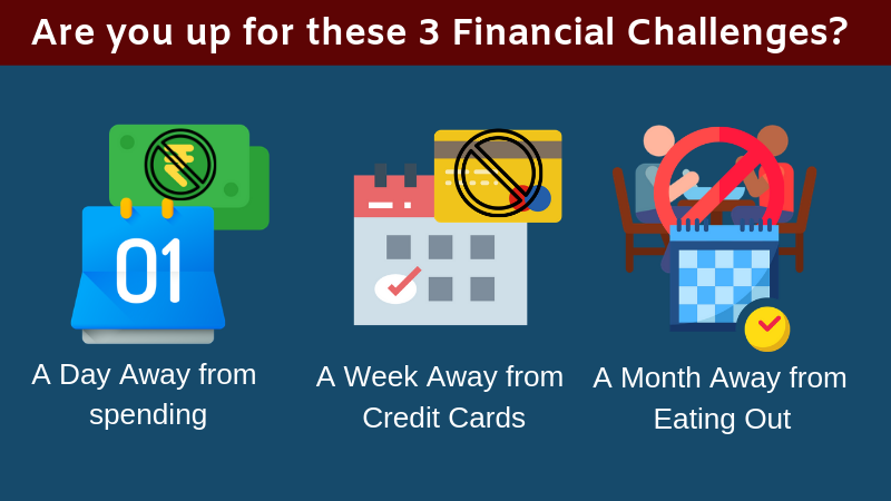 Are You Up For These 3 Financial Challenges