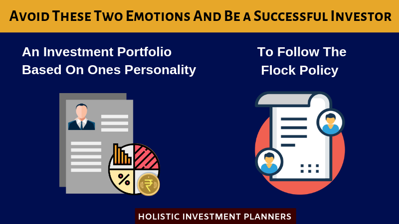 Avoid These Two Emotions And Be An Successful Investor