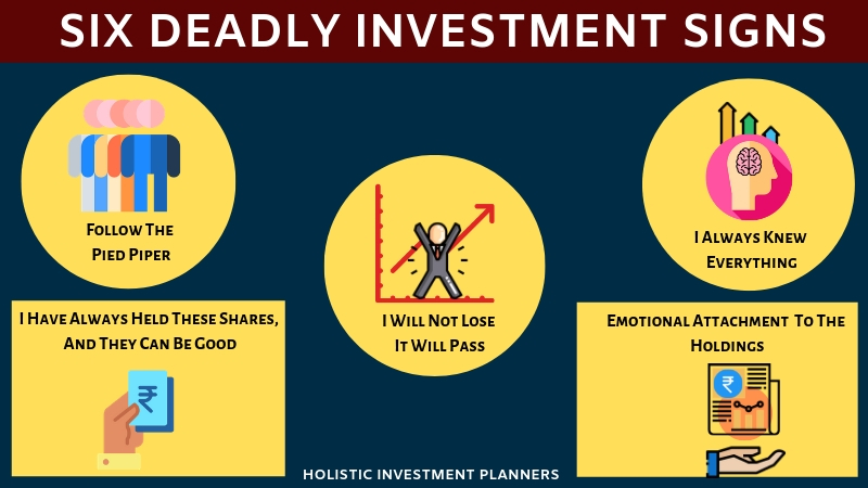 Six Deadly Investment Signs