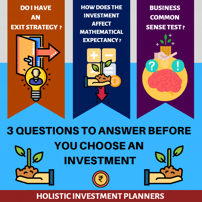 3 Questions to Answer Before You Choose an Investment 2