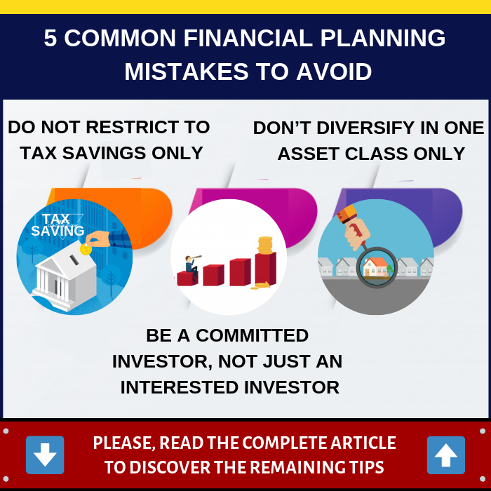 5 Common Financial Planning Mistakes to Avoid