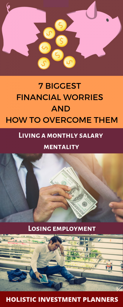 7 biggest financial worries and how to overcome them