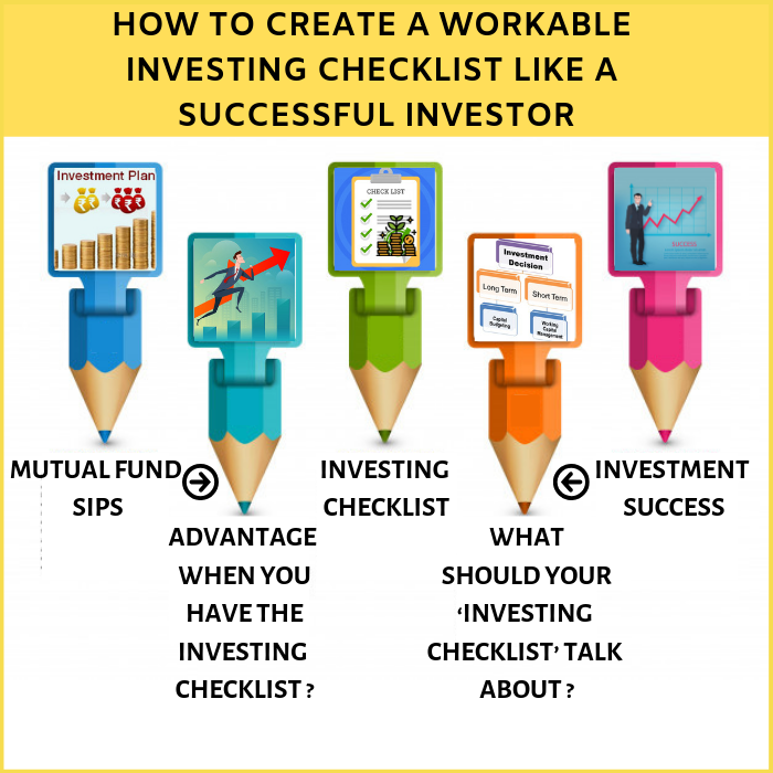 How to create a workable Investing Checklist like a Successful Investor