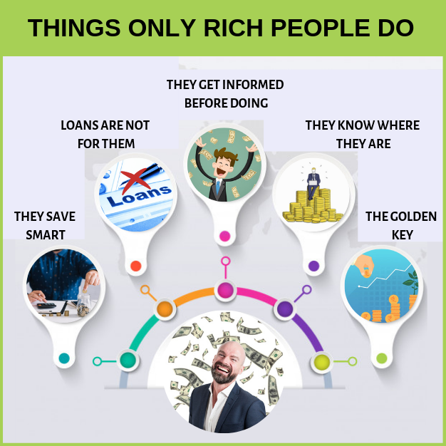 Things Only Rich People Do