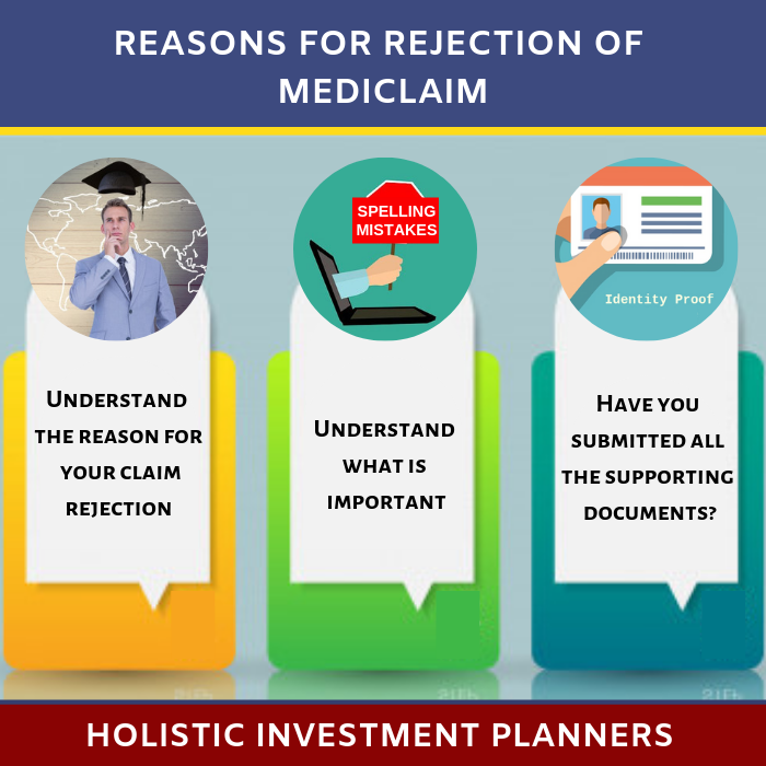 What to do if your claim from mediclaim policy is rejected