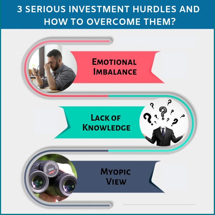 3 Serious Investment Hurdles and how to overcome them? 1