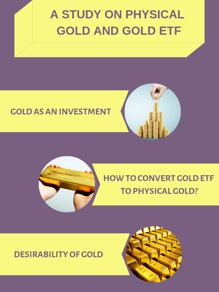A Study on Physical Gold and Gold ETF