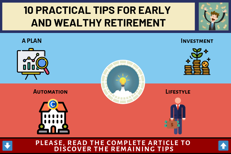 10 Practical Tips for Early and Wealthy Retirement 1