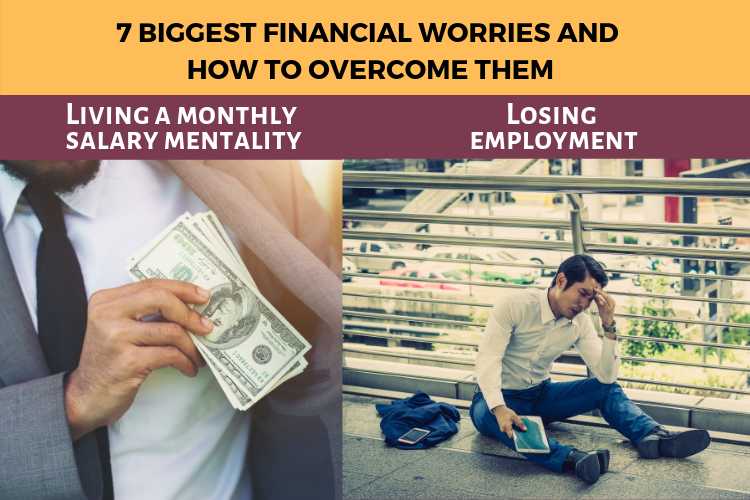 Financial worries and how to overcome them