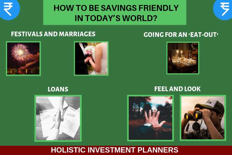 How to be savings friendly in todays world
