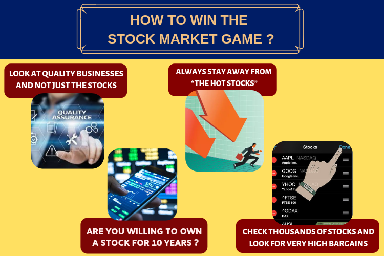 7 Great Secrets: How to Win the Stock Market Game? 2