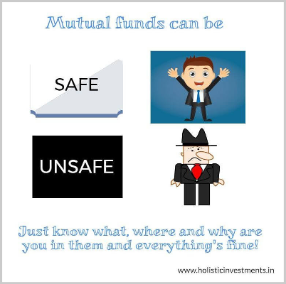Mutual funds can be safe or unsafe-1
