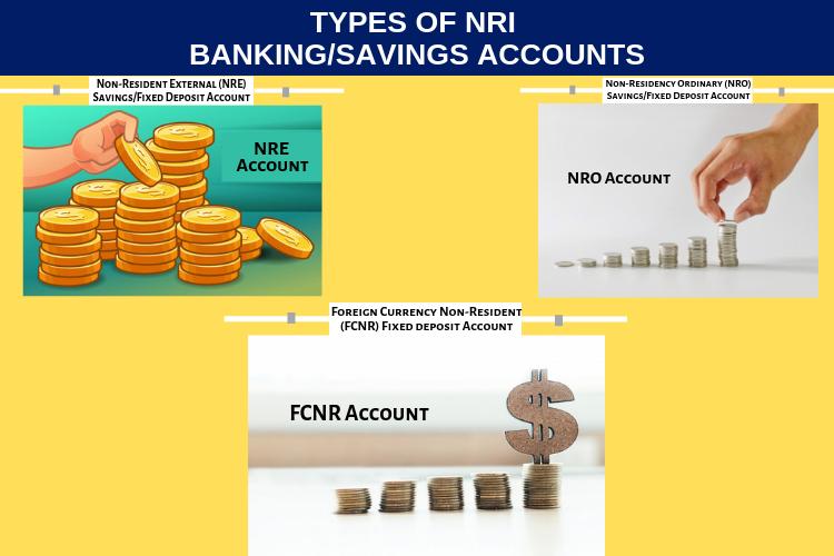Types of nri bankings or savings account