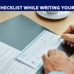 Check list to write the cheque