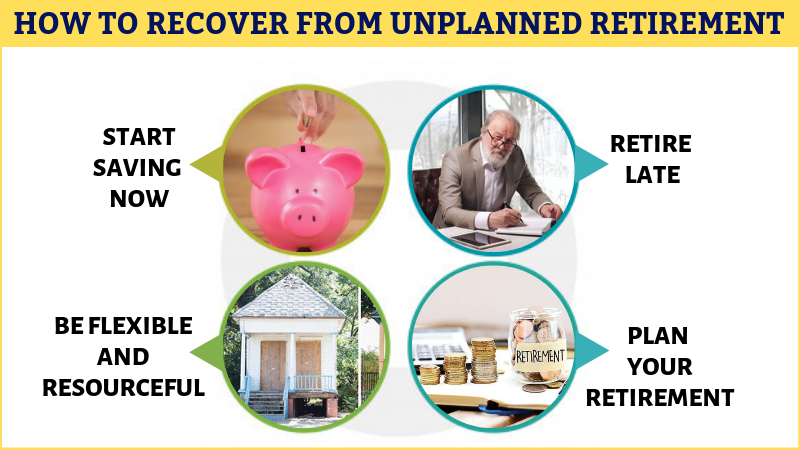 How to recover from unplanned retirement
