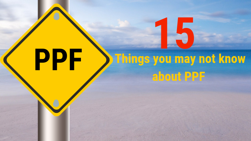 PPF Tax Savings