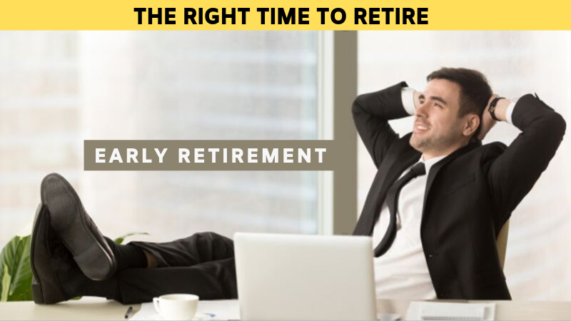 The right time to retire
