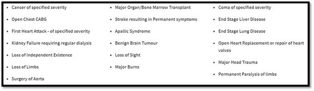 Life Option 19 critical illnesses