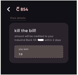Credit Card bill