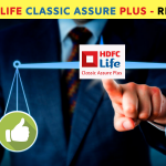 HDFC Life Classic Assure Plus - review