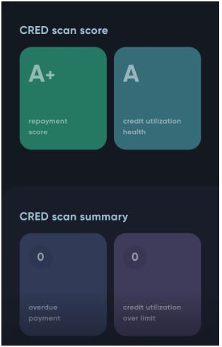 cred app scan score