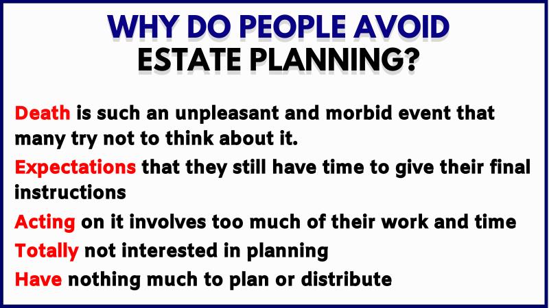 avoid estate planning